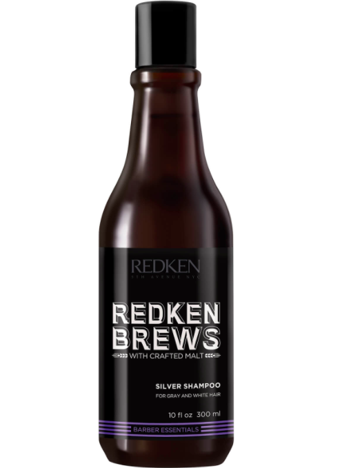 Redken Brews Men's Silver Shampoo (300 ml)
