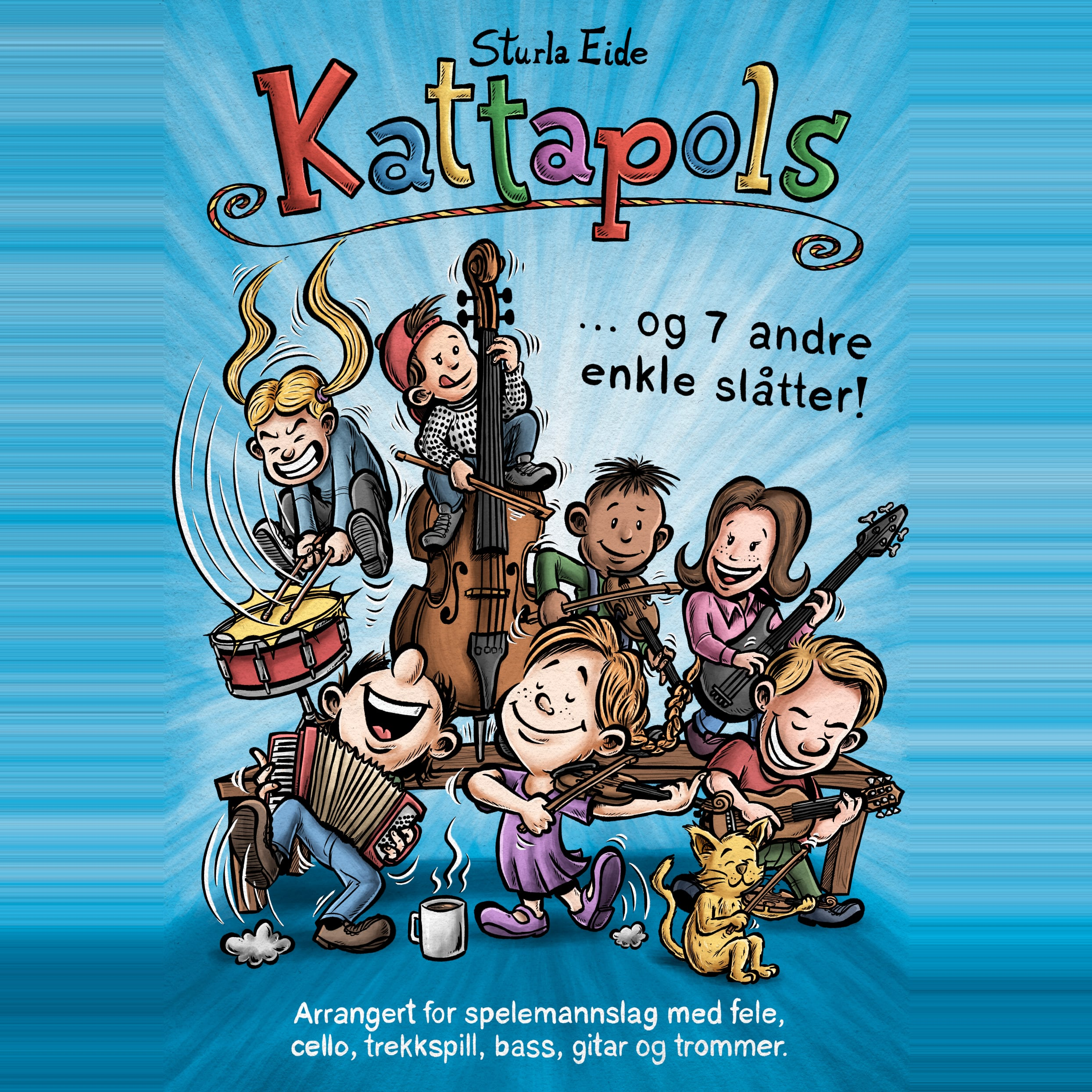 Notehefte / Sheetbook - Kattapols (Uten/without cello)
